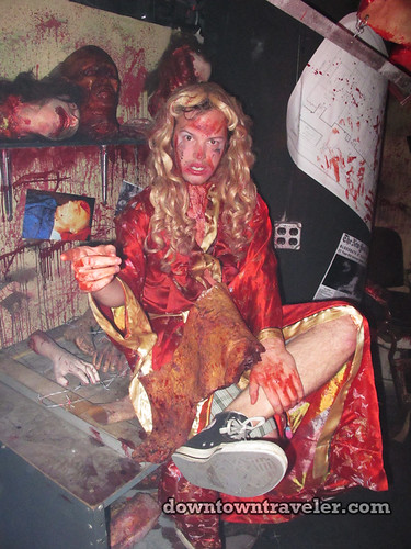 NYC Blood Manor Haunted House 2011_Murder room