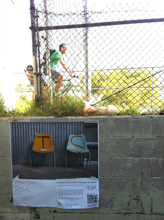 Trend Setter Chairs on the Los Angeles River