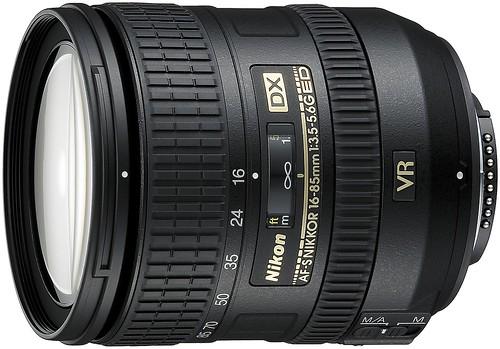 Nikon 16-85mm VR