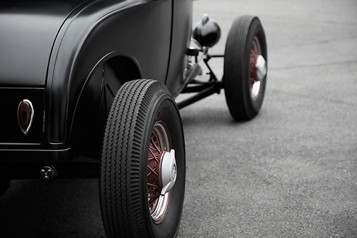 hot rod wheels by LOWTECH garage photography