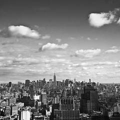 the city (nosha) Tags: nyc bw usa ny skyline view lightroom nyas 2011 nosha lumixg20f17 epl3