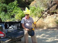 Big Yellow Hat goes prospecting