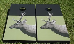 Hunting & Fishing Cornhole Boards