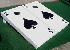 Poker & Gambling Cornhole Sets