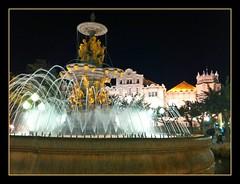 FUENTE DE LAS MUSAS-NINFAS (HUESCA) (Sigurd66) Tags: espaa huesca fuente aragon espagne modernismo osca modernista uesca iphone4 circulooscense casinohuesca fuenteninfas fuentemusas