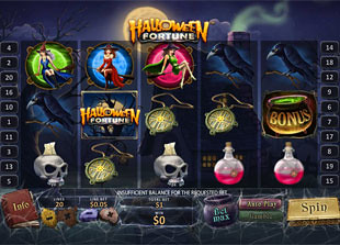 Halloween Fortune slot game online review