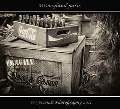 Coca Cola, as in the old days (drbob97) Tags: old friends paris me canon vintage bottle cola drink disneyland disney days crate fragile coca parijs drbob 24105 2011 lserie friendsphotography mygearandme mygearandmepremium mygearandmebronze drbob97