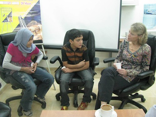 Sarah & Ahmed, Representing Sponsored Children