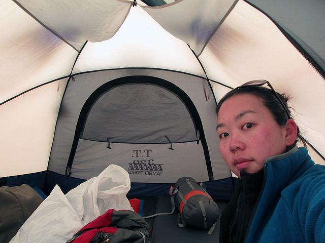 Grace's tent