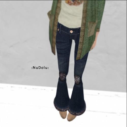 NuDoLu Jeans vintage Laine LB AD