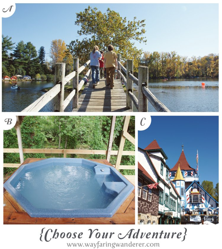 {Choose Your Adventure} LEAF + Hot Springs, NC + Oktoberfest in Helen, GA
