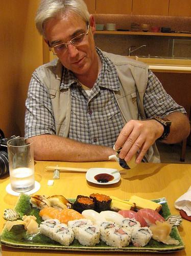 Sushi in Shinjuku