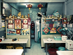 A small pempek restaurant (portable_soul) Tags: camera trip family wedding blackberry smartphone mobilephone processed challenge bold palembang optimized onyx2