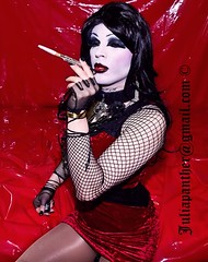 Gothic vampires look (Juliapanther Over 25 million views, thanks!!!) Tags: costumes red portrait black sexy halloween fashion fetish vintage dark hair drag necklace costume tv model glamour amazon doll long erotic dress julia witch vampire dom cigarette gothic goth goddess makeup posing jewelry babe curvy velvet lips betty crossdressing dressing sensual smoking tgirl divine desire gloves wig tranny bracelet bimbo lipstick mistress seductive diva panther pantyhose pinup nylon vamp reddress choker bettie stylish classy sheer shemale cigaretteholder goddes misstress redgown juliapanther