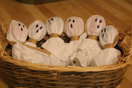 Ghost Lollipops