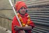 (PawelBienkowski) Tags: festival sadhus sannyasin ascetics kumbmela womansadhus