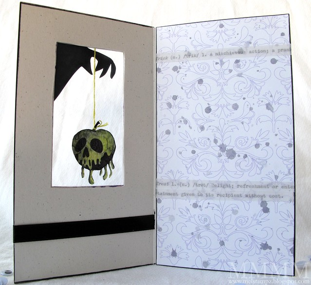 snow white poison apple window card (inside)