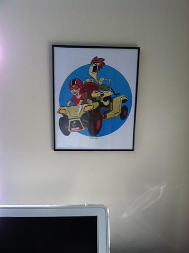 poster framed!