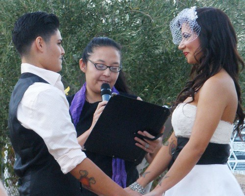 Ace Hotel Wedding Officiant in Palm Springs, CA