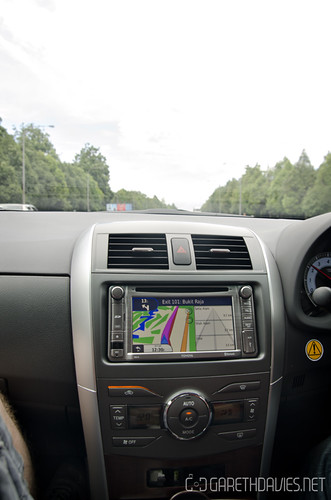 Toyota Altis In-car Navigation
