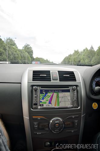 Toyota Altis In-car Navigation