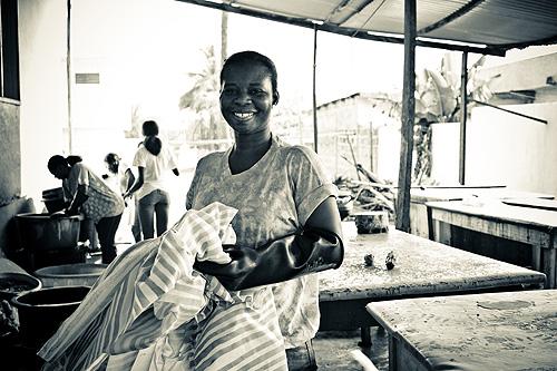 EdTek Batiks site visit in Accra, Ghana
