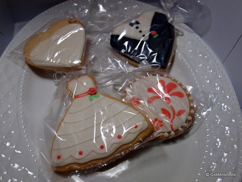 Wedding Cookie Set