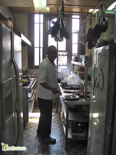 chef at La Guarida - Paladar - kitchen - havana cuba