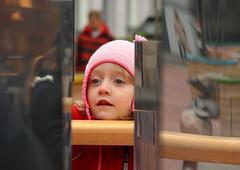 Reflecting on Riga (Swedish Goose) Tags: reflections daughter gap mirrors latvia riga canoneos400d canonef753001456ii