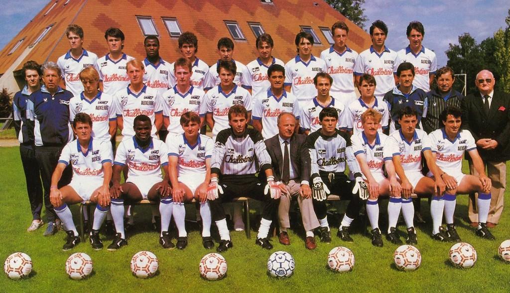 auxerre 1988-89