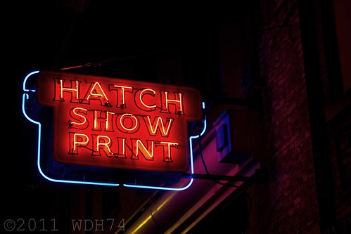 Hatch Show Print by William 74