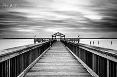 [Explore #1, thanks!] (Gary Ngo | Photography) Tags: longexposure bw monochrome pier nikon explore filter nd grad hitech virigina leesylvaniastatepark d7000