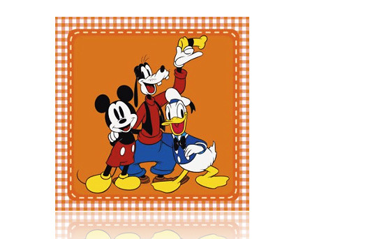 Mickey Mouse, Goofy and Donald Duck