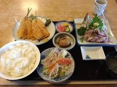 黄金定食@磯料理マルゴ
