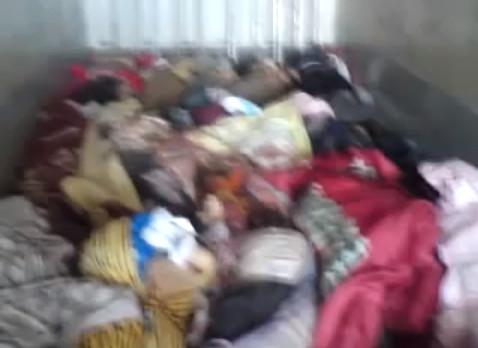 dead bodies in a truck