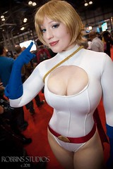 Eyes Up Here (BelleChere) Tags: comics dc costume cosplay friday marvel comiccon powergirl nycc msmarvel