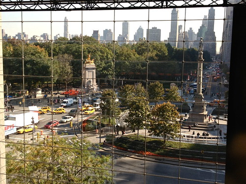 View from Time Warner Center