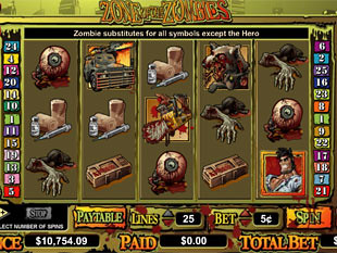 Zone Of  Zombies slot game online review