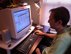 Charles Saftner Working on Team Builder