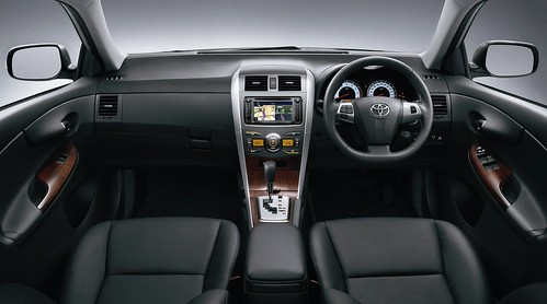 Toyota Altis New Dark Interior Colour