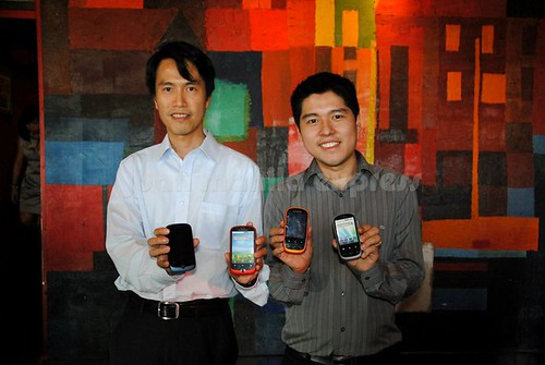 Harry Au (General Manager, APAC), Darren Sy (GM, ClearSight Corp)