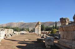 Anjar, Umayyad city, al-Walid I, 705-15, along the decumanus maximus (11) (Prof. Mortel) Tags: lebanon umayyad anjar