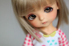 Hamiko (Aya_27) Tags: cute yellow doll sweet special bjd custom dollfie limited haru dollie latidoll lati lrrh faceupbyandreja