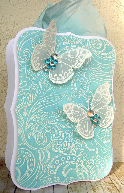 Blinged up Butterflies Gift Box