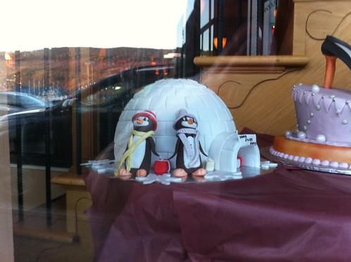 Igloo cake at Bistro Sofia
