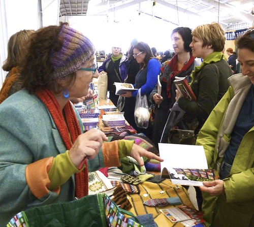 booksigning at NY Sheep & Wool