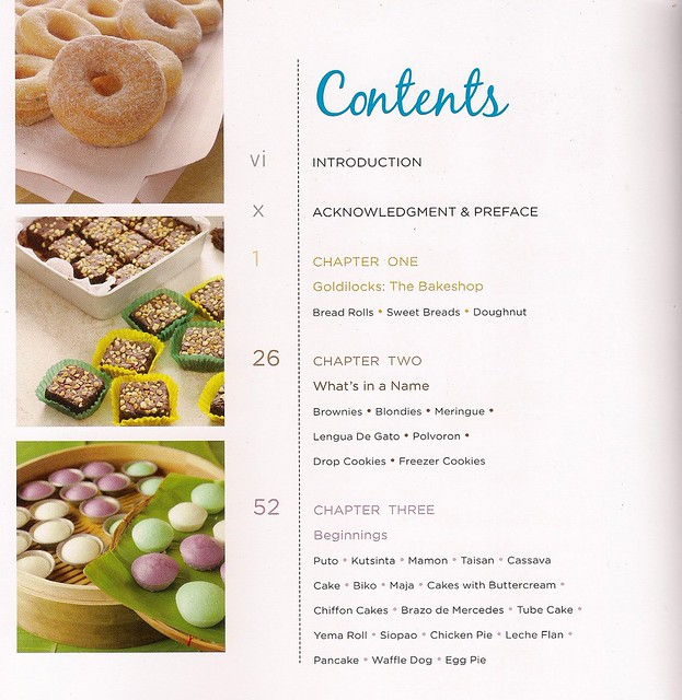 GoldilocksBakeBookContents