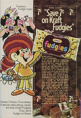 1970 Kraft Fudgies Ad (Neato Coolville) Tags: 1970 1970s kraft coupon magazinead fudgies 7