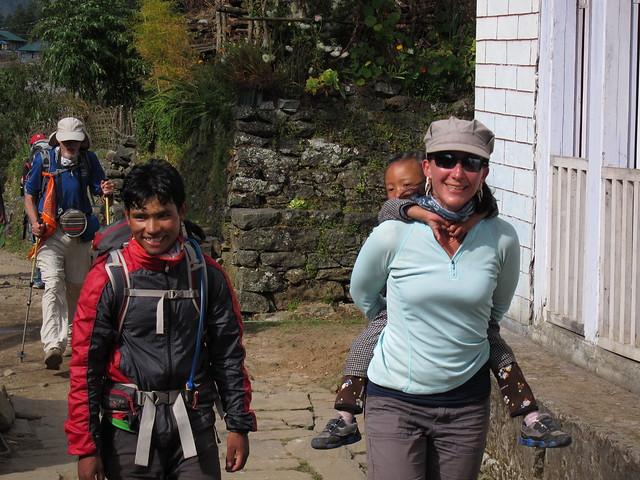 Maya & Me On The Trail 2 By Jon Wist