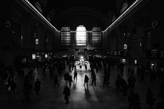 Grand Central Station (guiba6) Tags: leica people blackandwhite usa newyork biancoenero leicam9 superelmar18